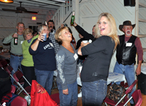 The Sauerkraut Band at Mt. Lake - October 2, 2010