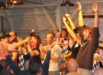 The Sauerkraut Band at Mt. Lake - October 9, 2010