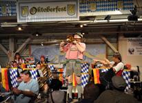 The Sauerkraut Band at Mt. Lake - September 18, 2010