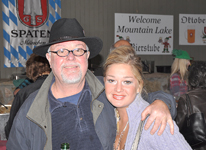 The Sauerkraut Band at Mt. Lake - October 21, 2011