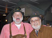 The Sauerkraut Band at Mt. Lake - October 29, 2011
