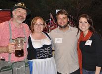 The Sauerkraut Band at Mt. Lake - October 7, 2011