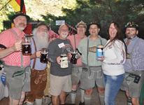 The Sauerkraut Band at Mt. Lake - October 8, 2011