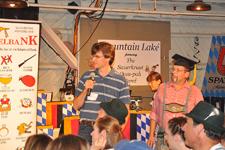 The Sauerkraut Band at Mt. Lake - Oktober 5, 2012