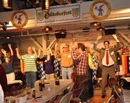 The Sauerkraut Band at Mt. Lake - September 22, 2012