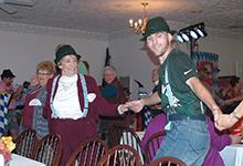 The Sauerkraut Band at Anna's Restaurant - Oktober 19, 2013