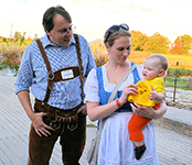 The Sauerkraut Band at Sinkland Farms - Oktober 5, 2013